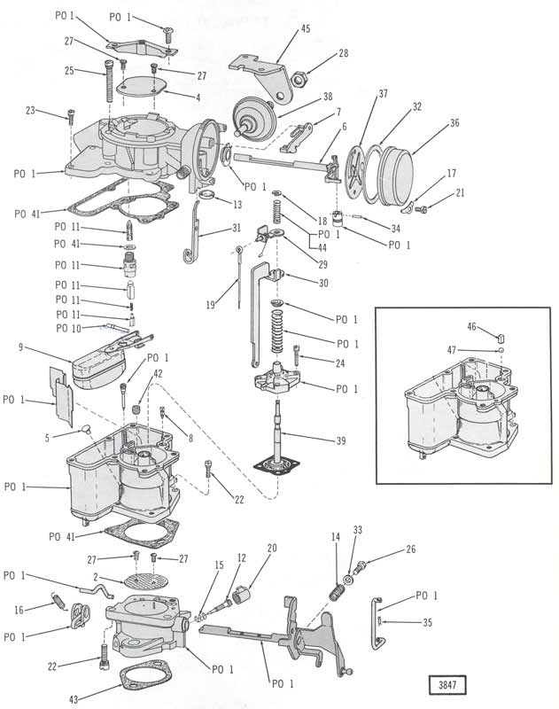 258 jeep engine diagram jeep wiring diagrams instructions carburetor 1bbl six carter yfseries jeep 258 jeep engine diagram at publicscrutiny Choice Image
